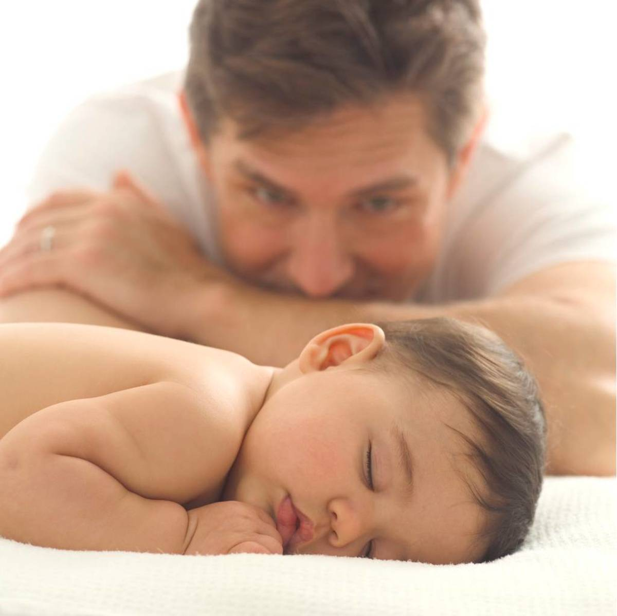 Let Dad Help with Sleep Times