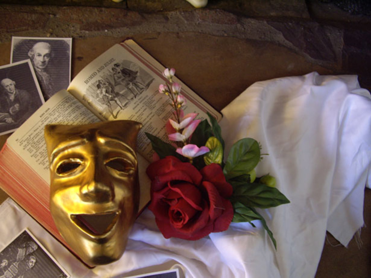 Mask and Book by Talia Felix