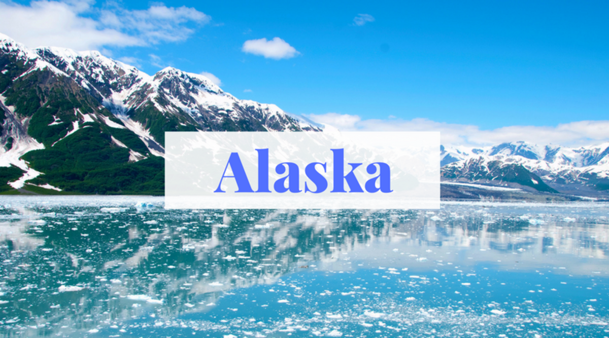 """""""Alaska"""" comes from the Aleut word """"Alyeska"""" and means """"great land."""""""