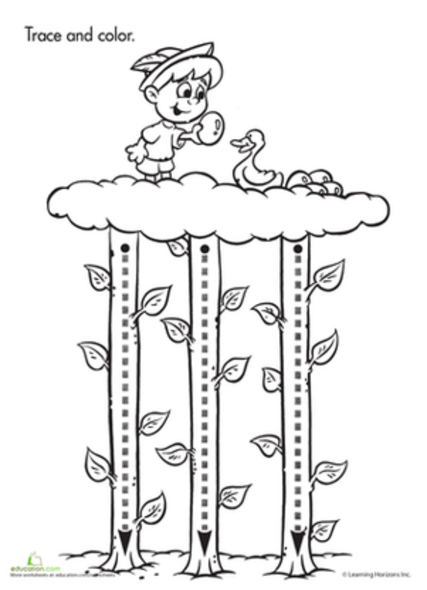 Jack and the Beanstalk Activities for Preschoolers and ...