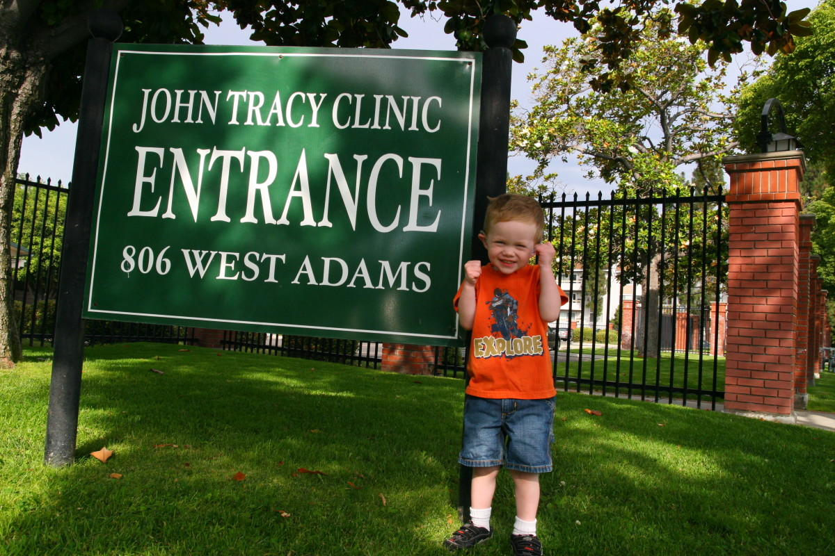 Learn about helpful resources: The John Tracy Clinic is invaluable (and free) for children with hearing loss.