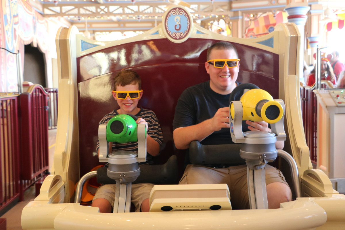 Toy Story Midway Mania is extremely fun for all ages (as long as the height requirement is met)!