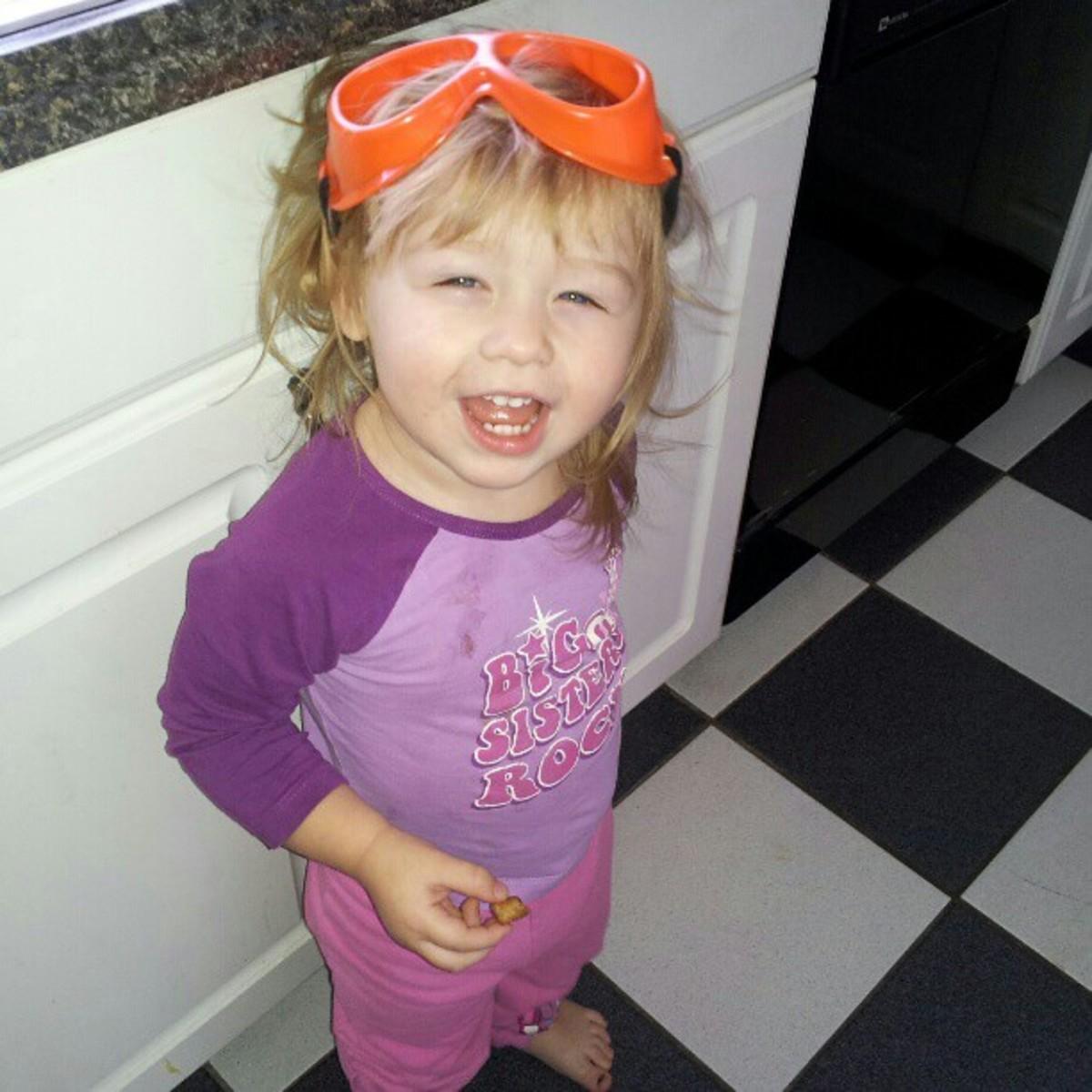 My little troublemaker