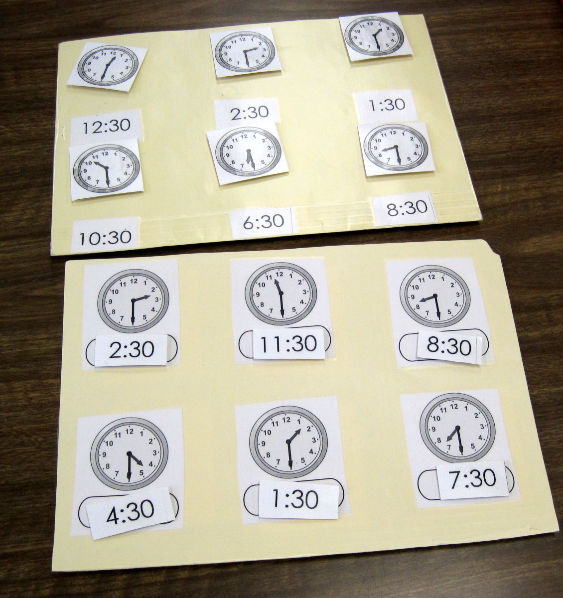 k-4-telling-time-clock-teaching-materials-with-velcro