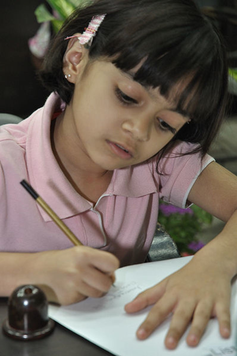 Good concentration and memory skills will help a child succeed in school.
