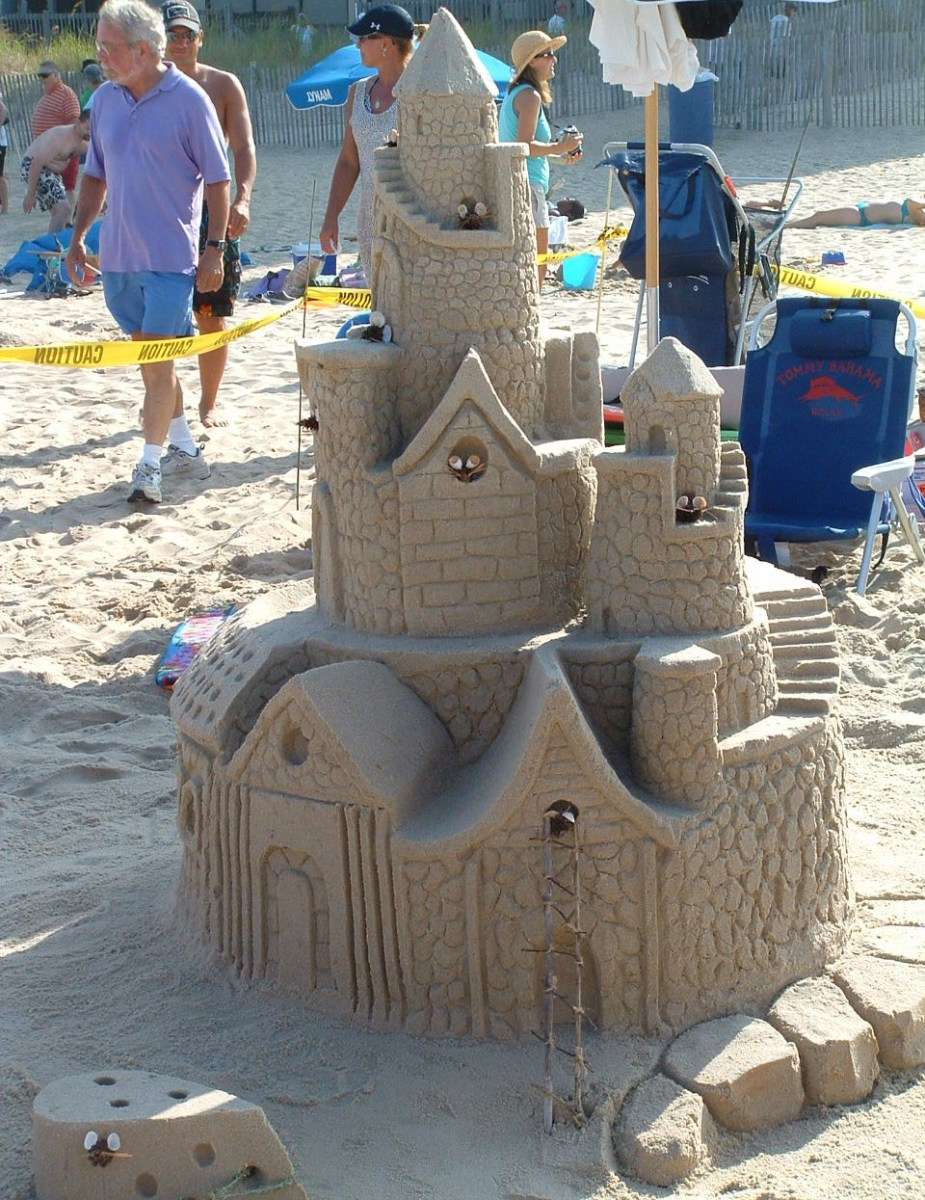 Hide-N-Squeek Mouse Castle Rehoboth Beach Contest Entry
