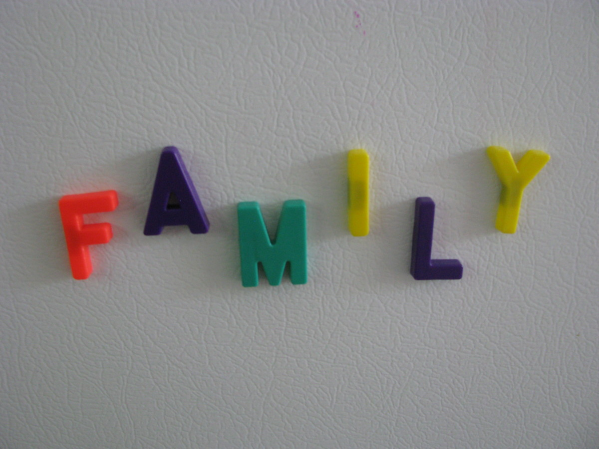 One of the best f-words available: family.