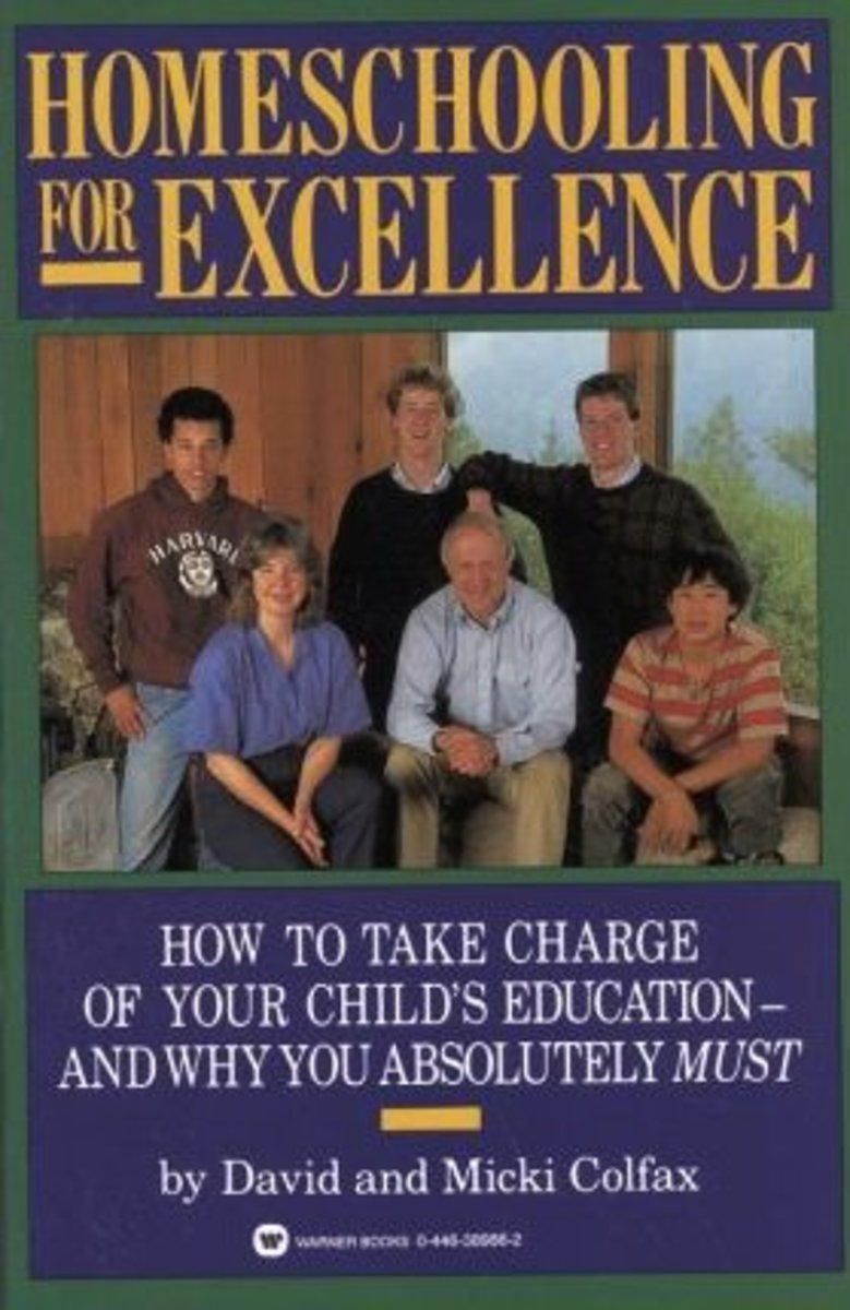 This is the book written by David and Micki Colfax that helped make home schooling mainstream.