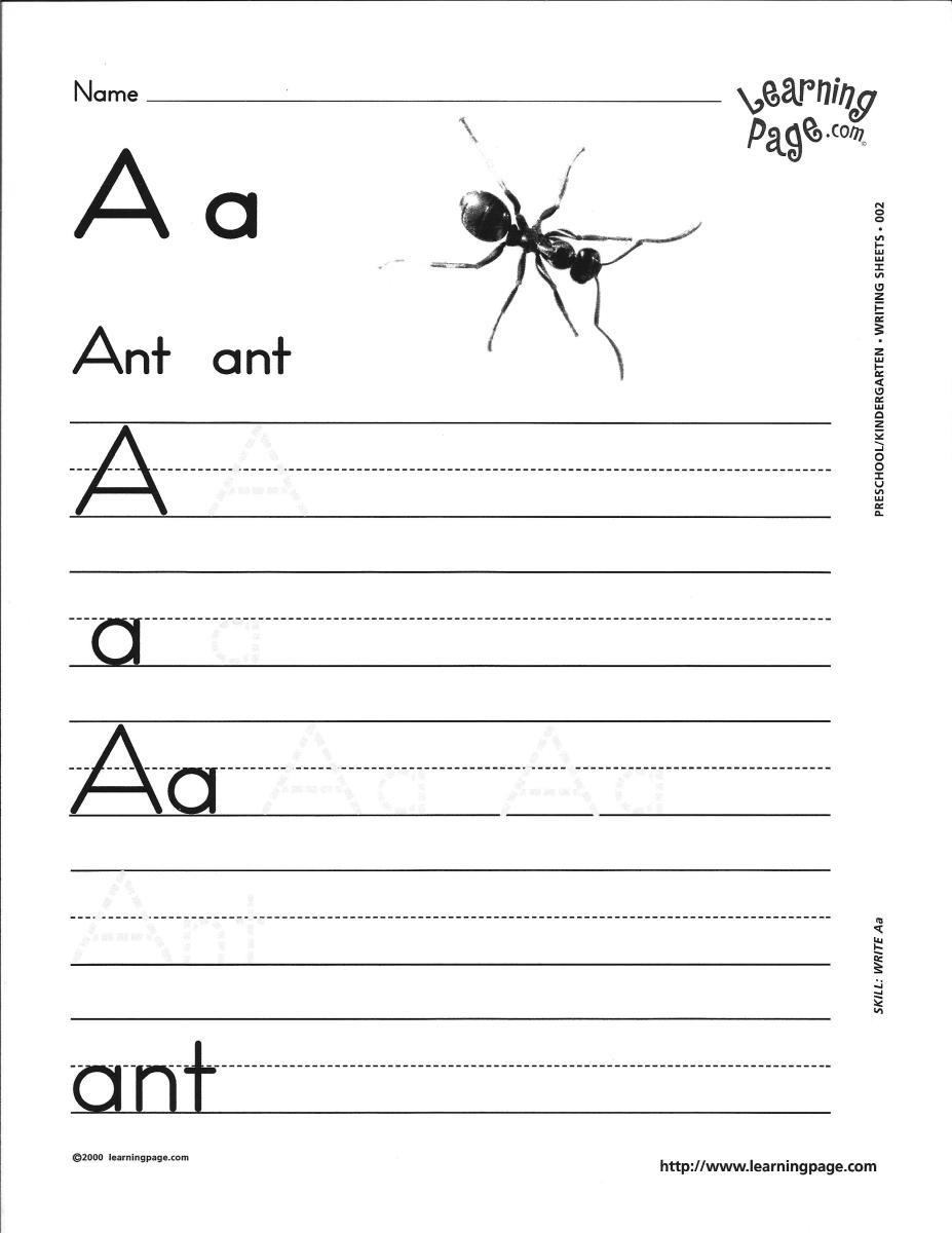 Alphabet homework kindergarten – Kindergarten Letters Worksheets