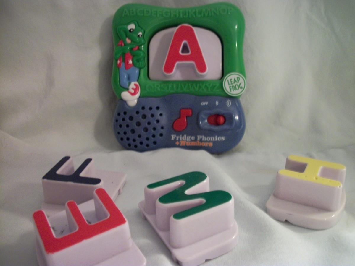 Leap Frog alphabet letters