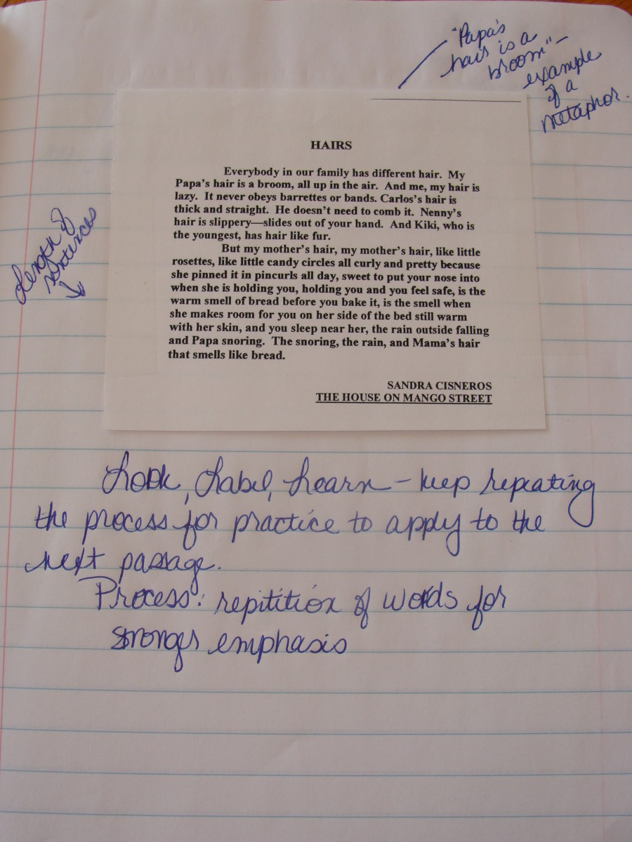 Annotations help the writer to remember what to include in his or her next writing.