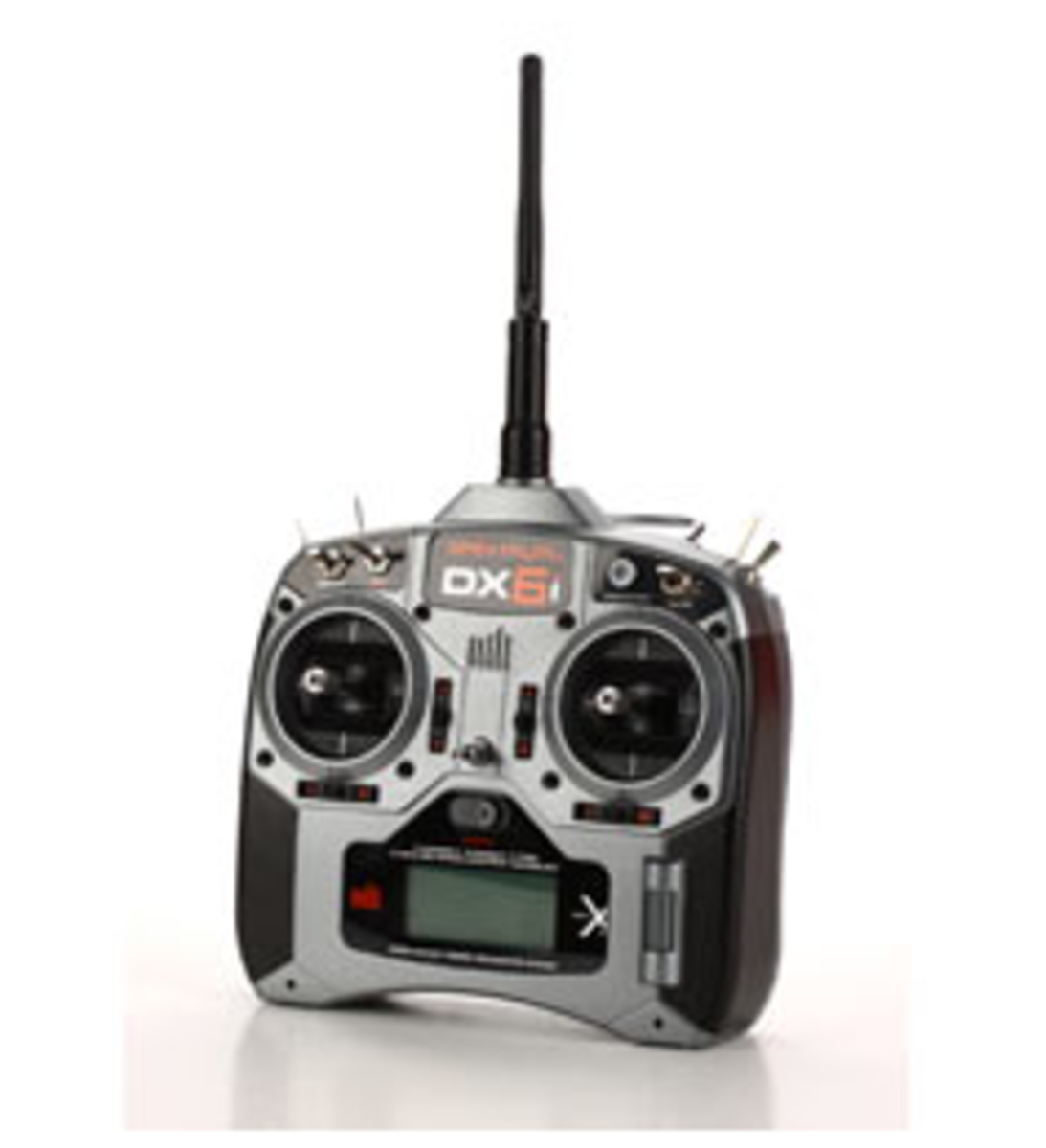 The Spektrum DX6i has easy to navigate settings.  Almost every programmable radio will have similar options.
