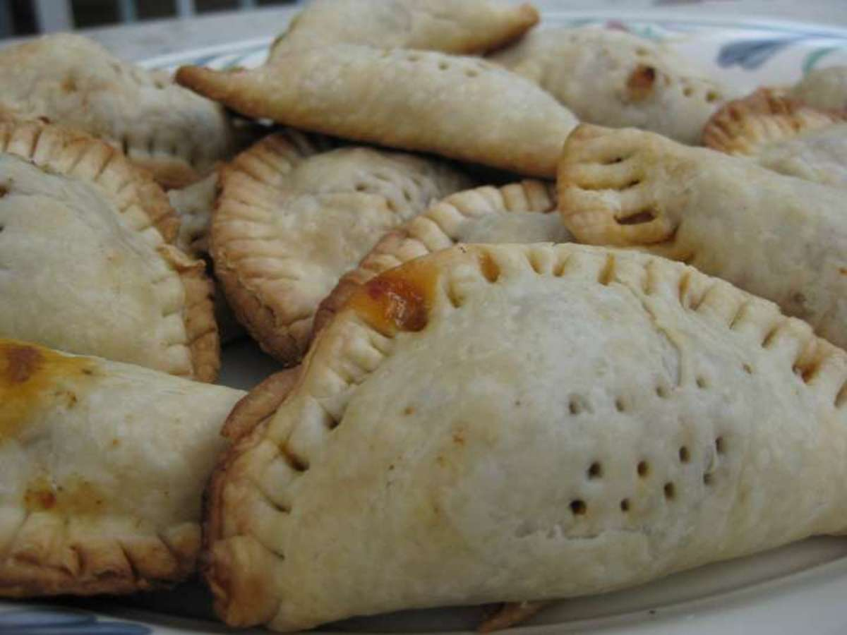 Empanadas made by a 12 year old.