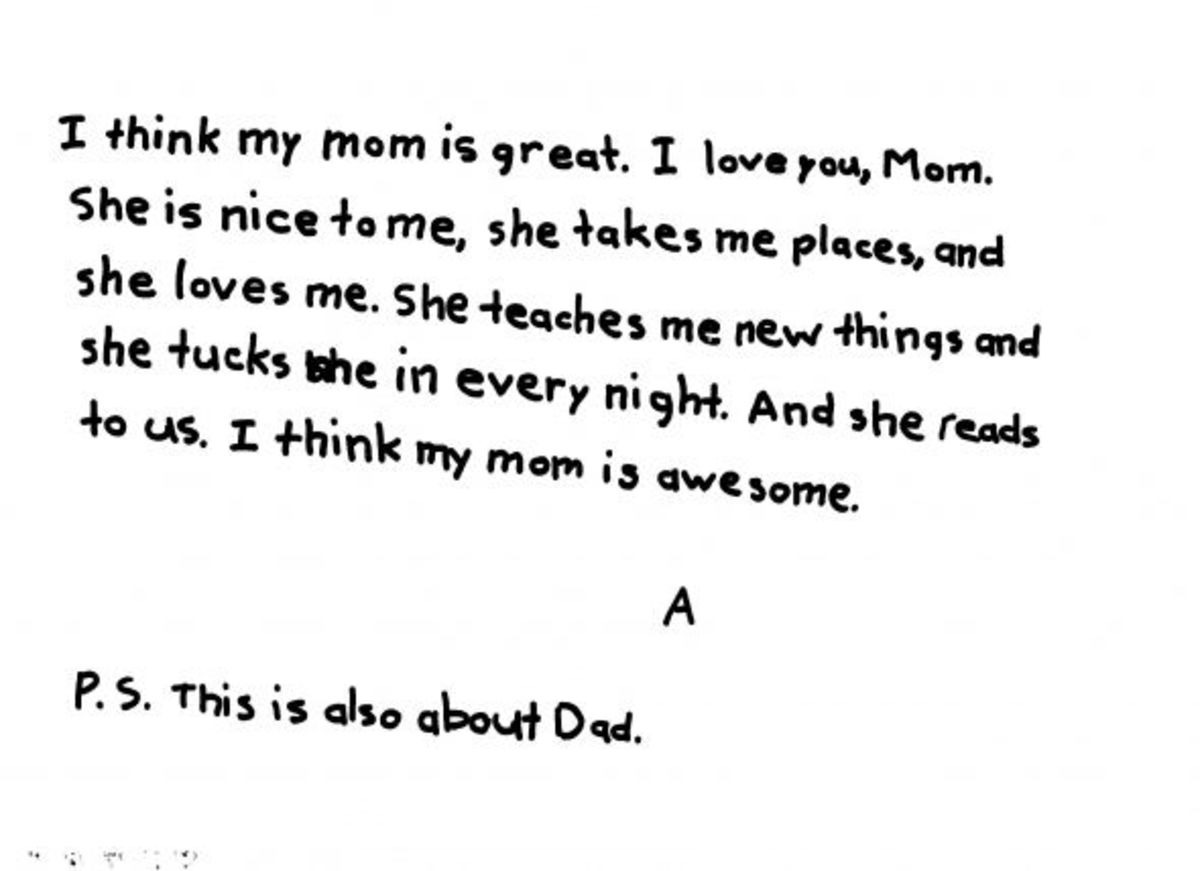 Examples Of Love Letters For Kids Wehavekids