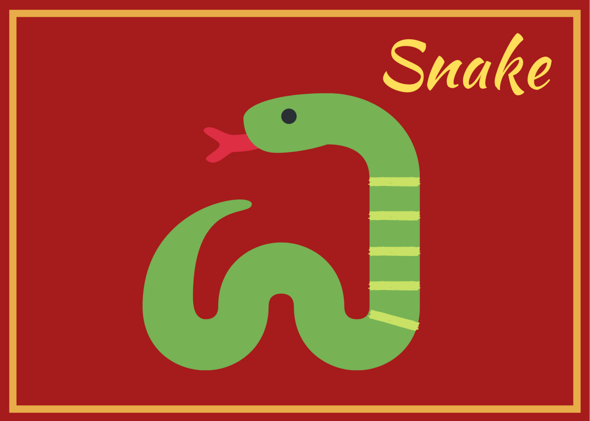 . . . but the Snake hitched a ride on the Horse's leg and beat him to the finish line!