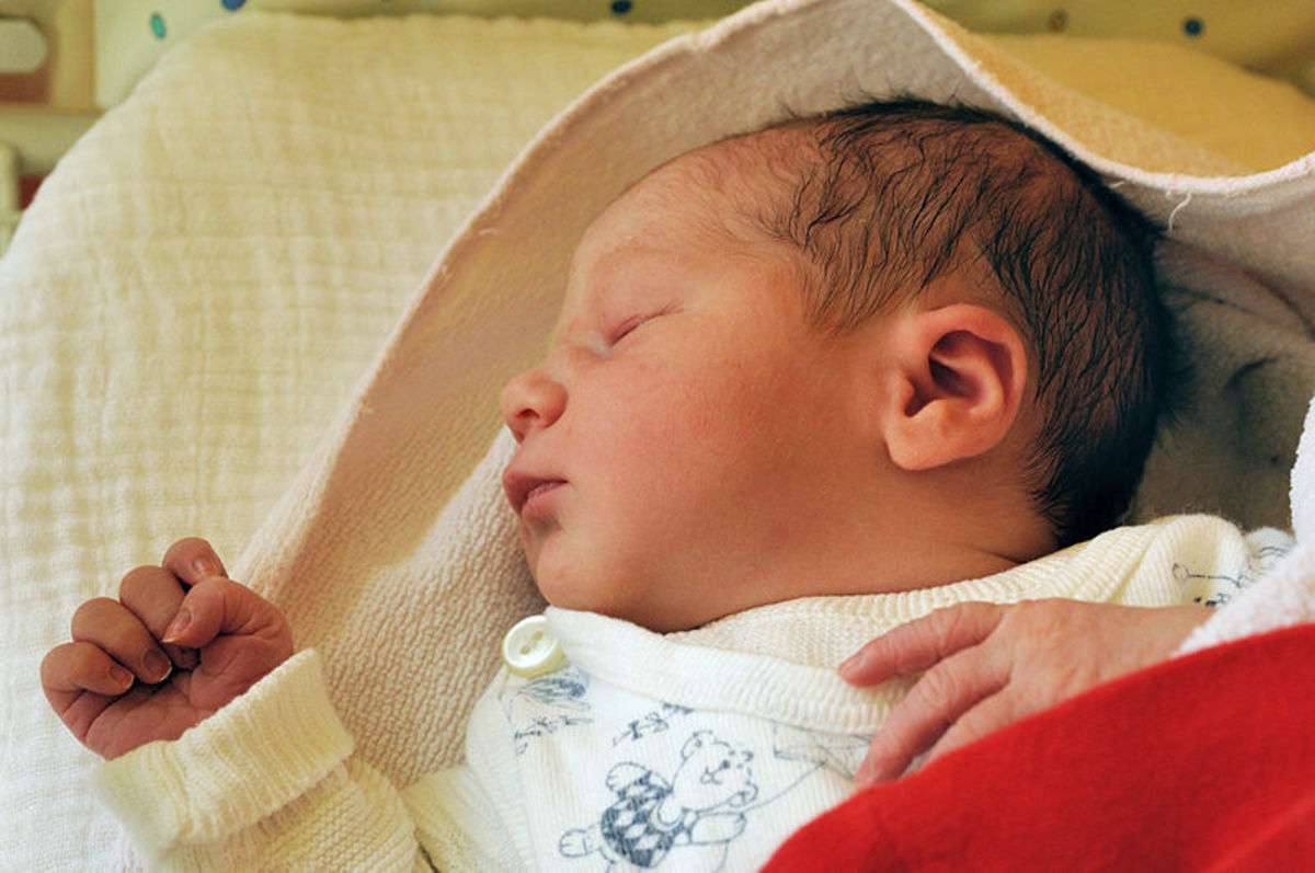 Newborn babies are cute, but they don't do much.