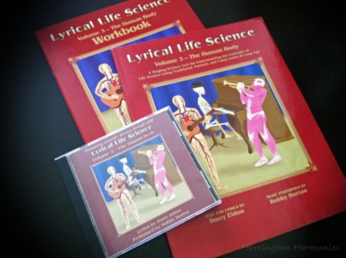 Lyrical Life Science Volume 3 Image Credit: thecurriculumchoice.com