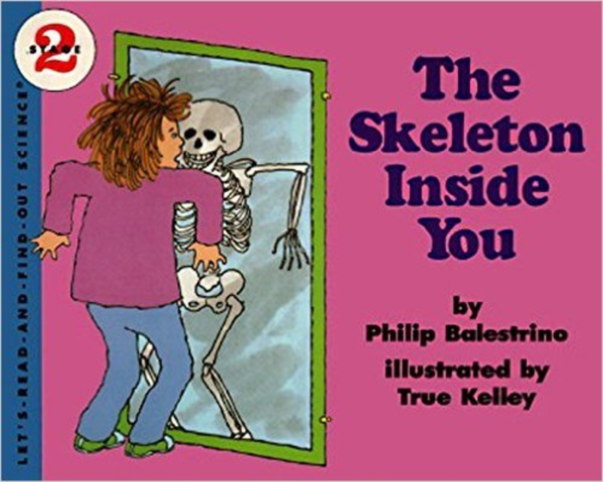 The Skeleton Inside You (Let's-Read-and-Find-Out Science 2) by Philip Balestrino - Images are from amazon.com