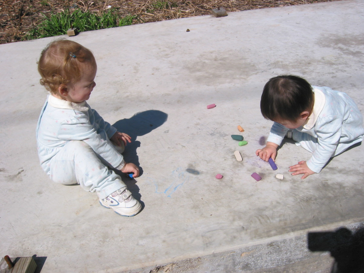 Sending the kids to play outside is always a good idea!