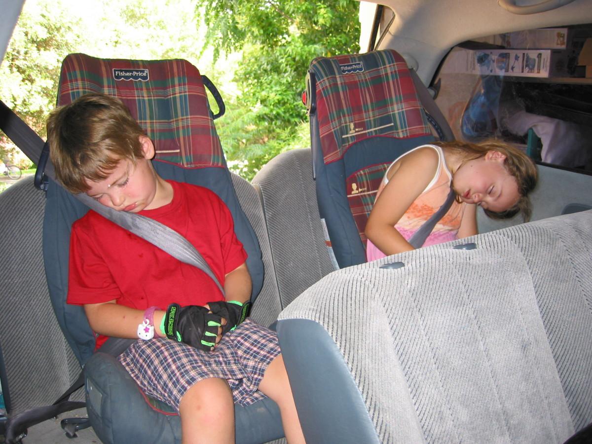 Make sure they get enough sleep!