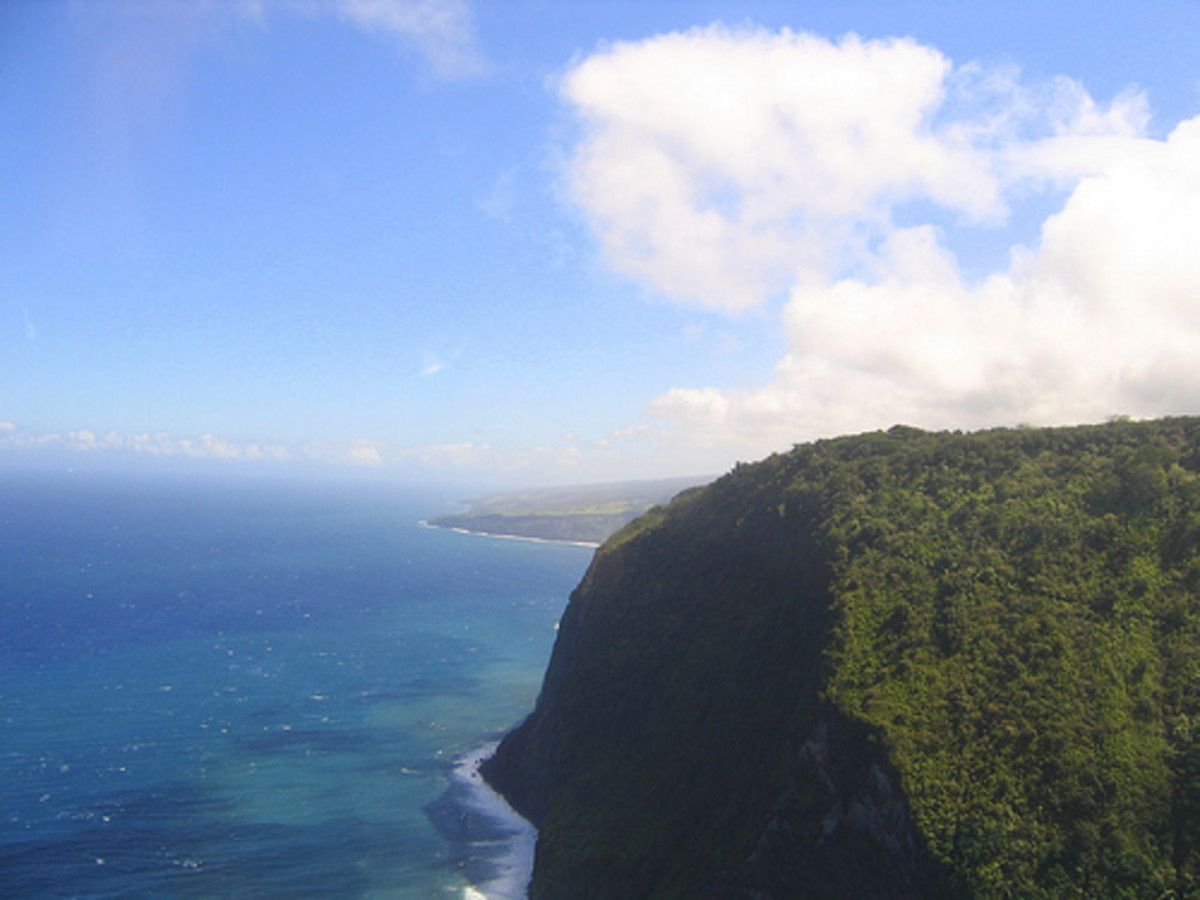 Kohala cliffs