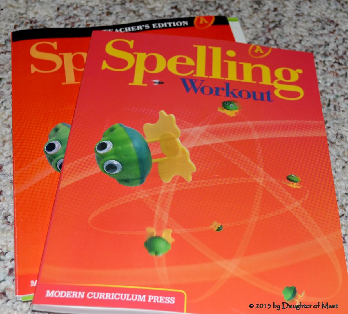 Our spelling curriculum.