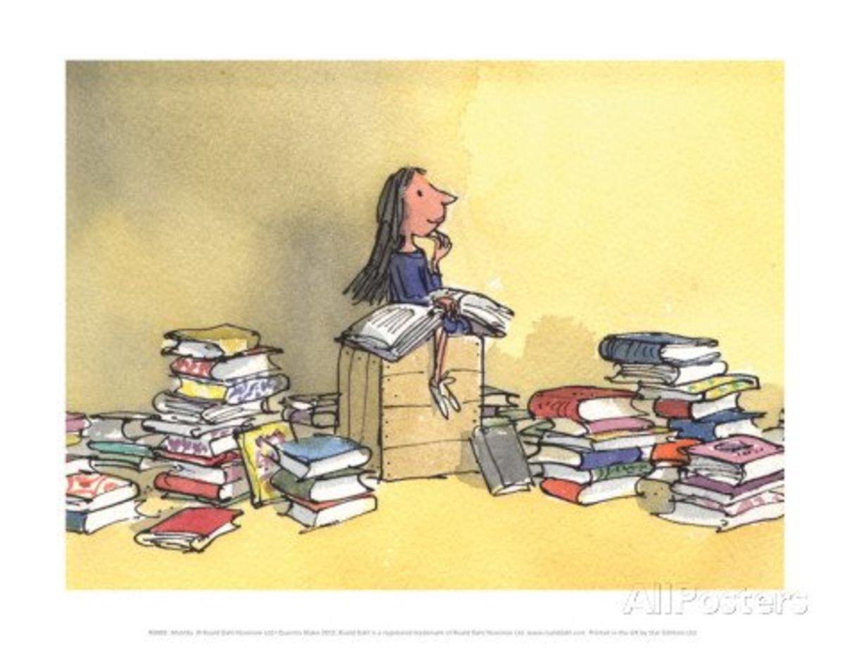 Matilda By: Quentin Blake