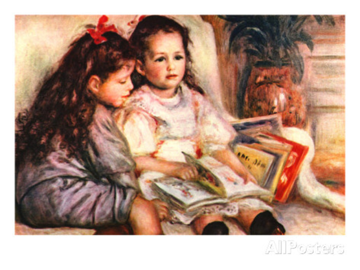 """Portrait of Jean and Genevieve Caillebotte"" By: Pierre-August Renoir"