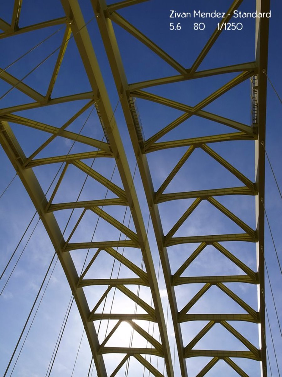 Can you guess what this is?  Bridges have interesting configurations.