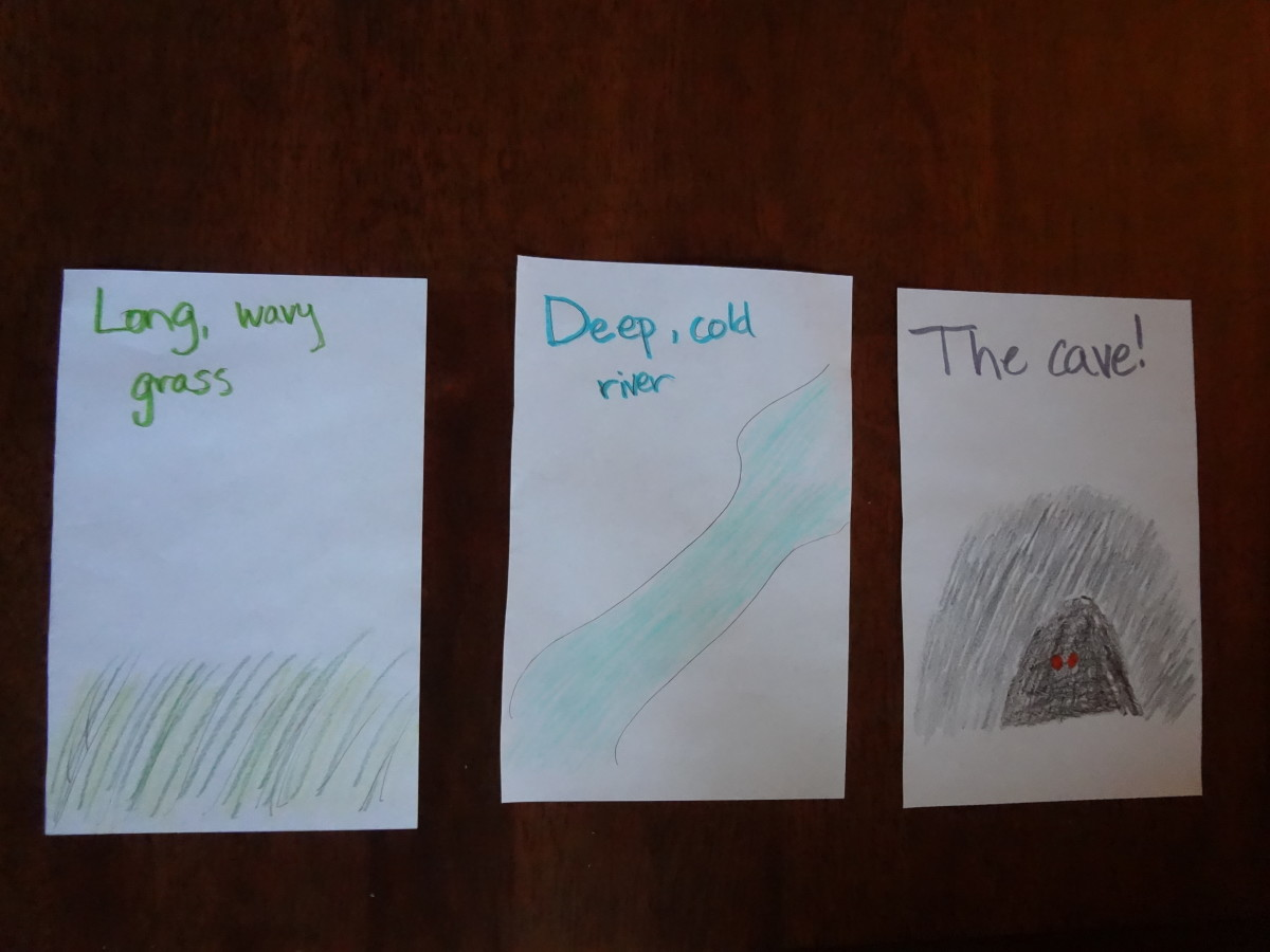 Make cards or pictures of the scenes and have the kids put them in the correct order.