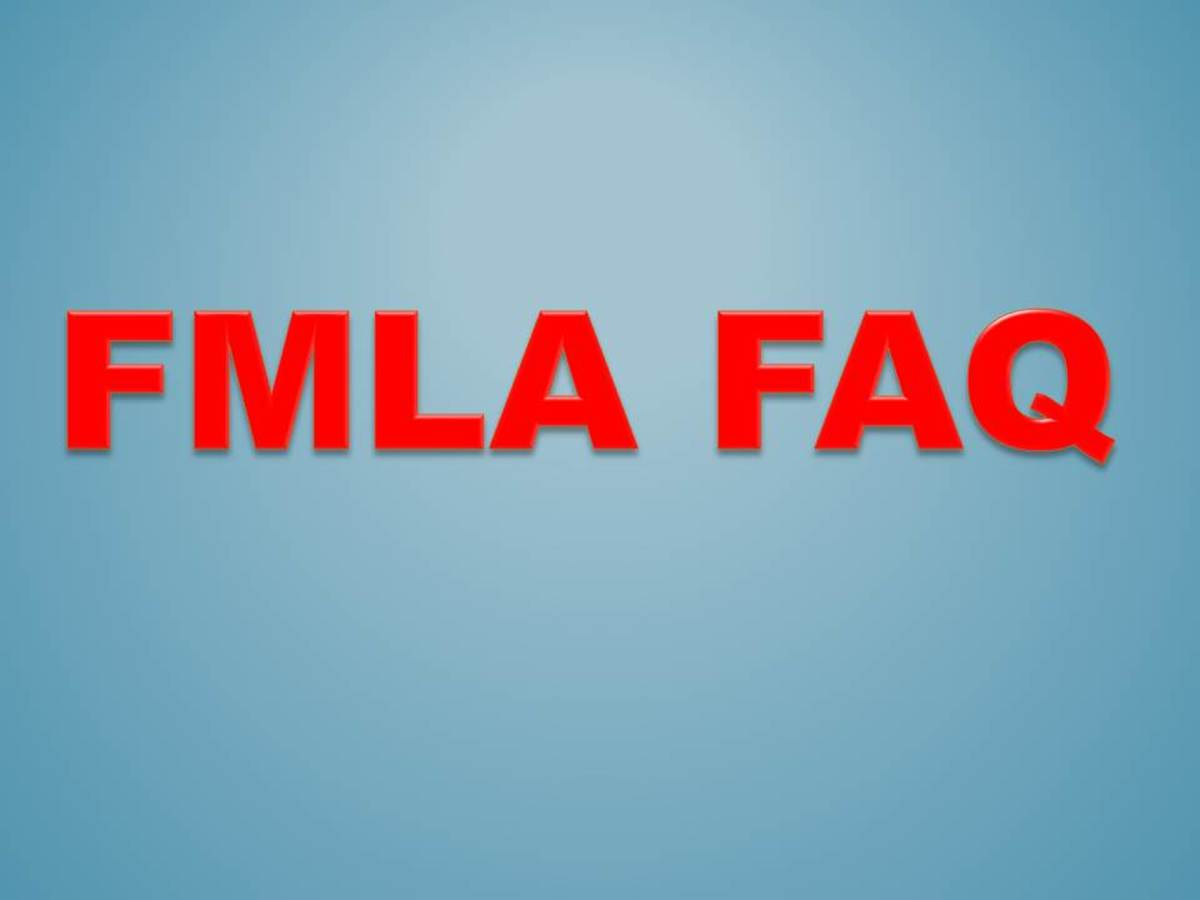 Questions about FMLA