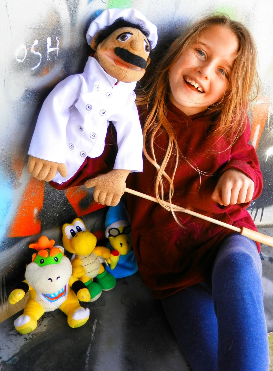 Puppets provide a sense of security that makes it easier for children to express thoughts and feelings that they might not otherwise feel comfortable sharing.
