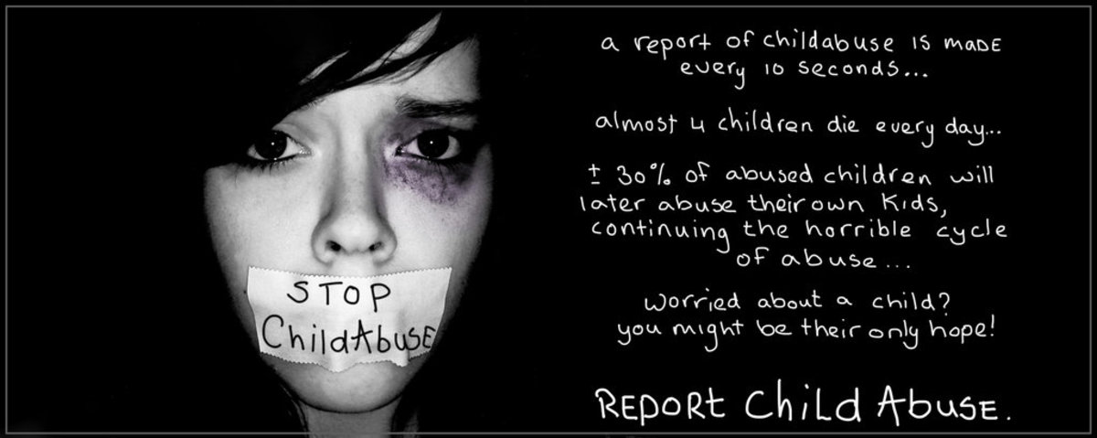 Report child abuse! You are not being nosy by reporting. You are being a child's hero. Child abuse is EVERYONE'S business!