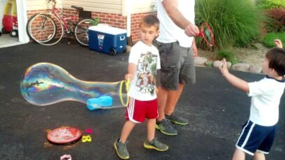 Our longest bubble contest winner!
