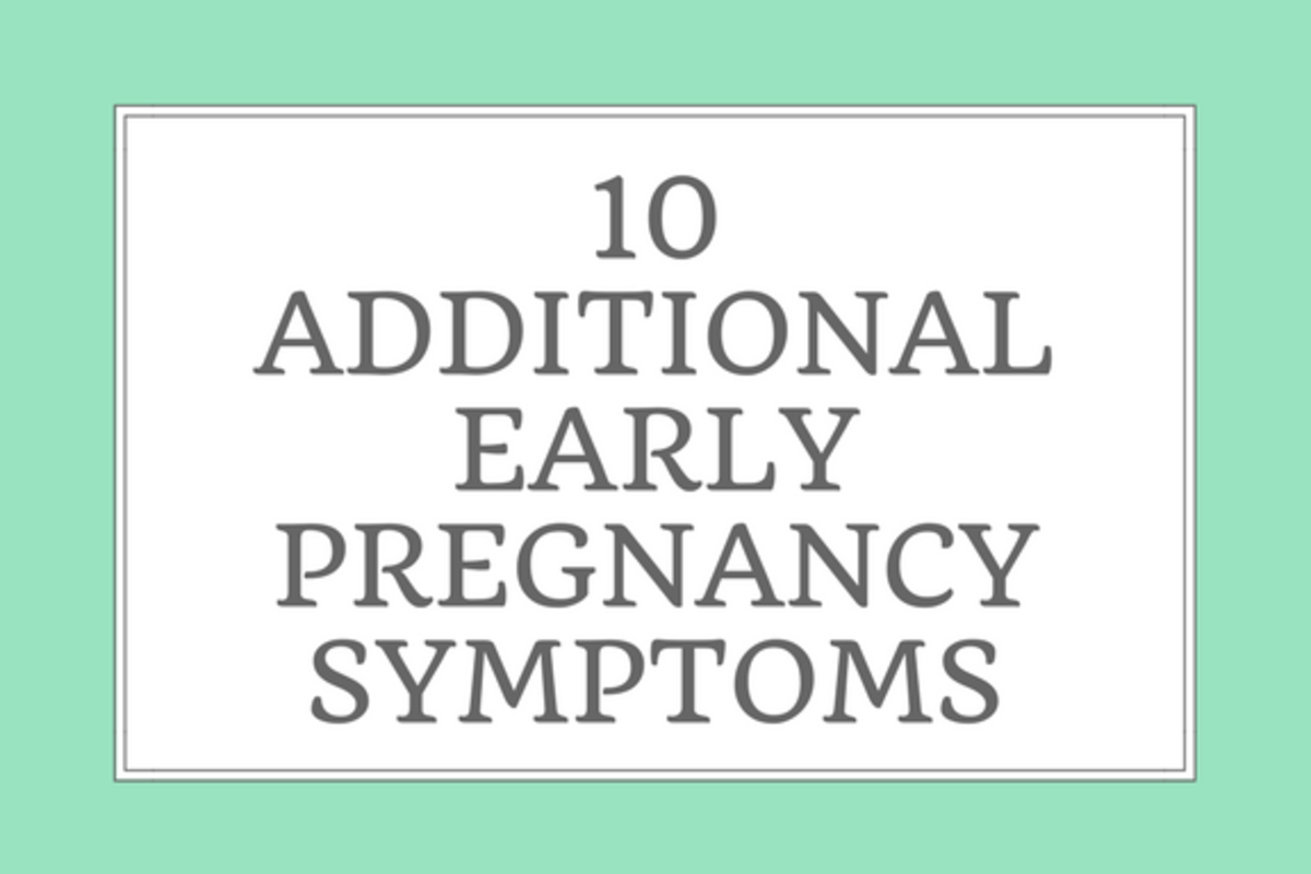 PMS Cramping vs  Common Early Pregnancy Symptoms | WeHaveKids
