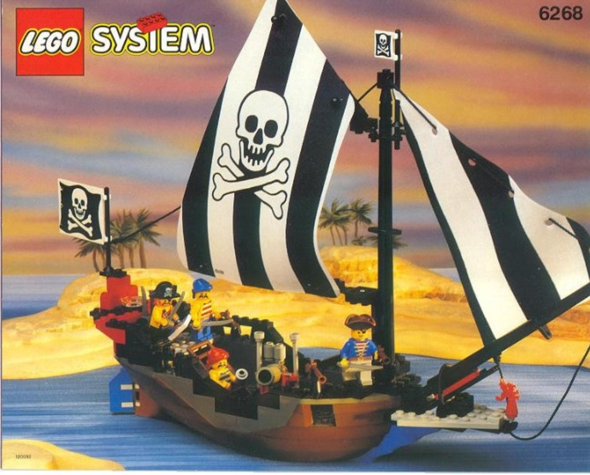 Renegade Runner:  My first pirate ship!