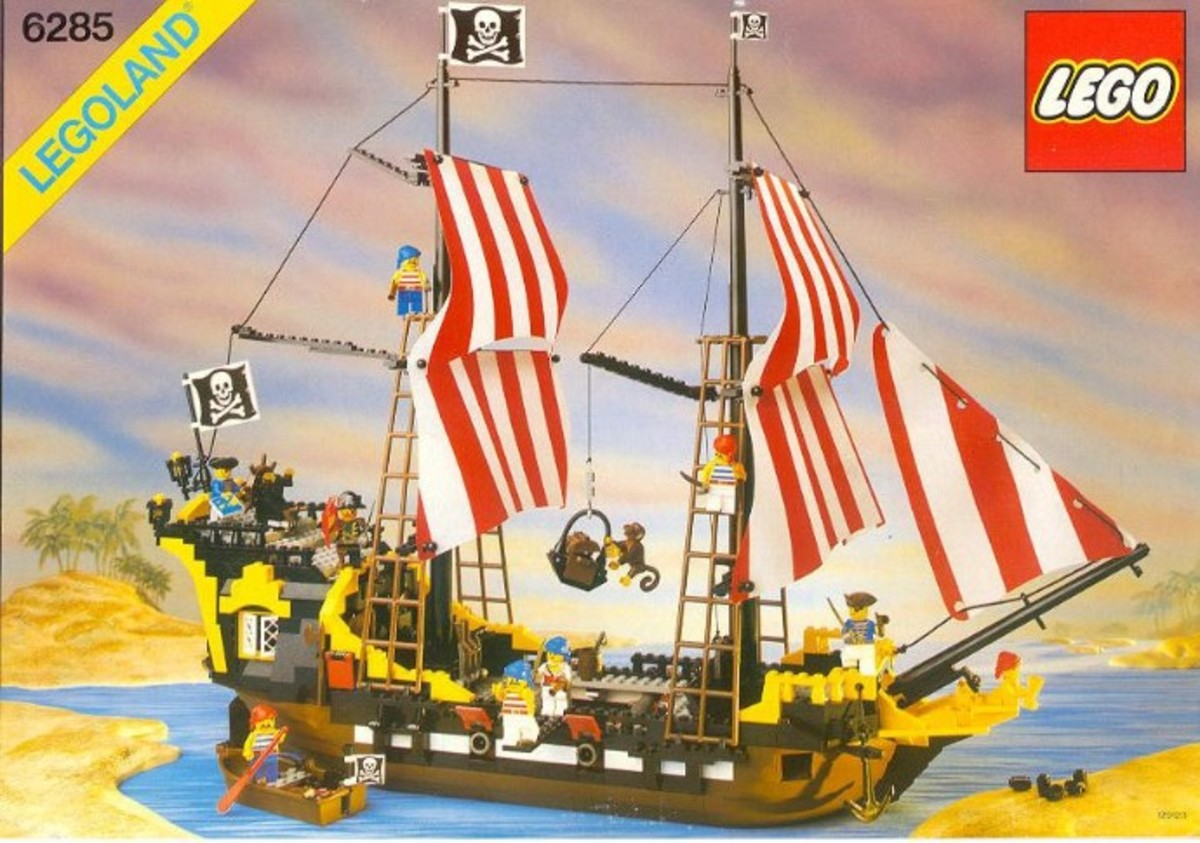 The Black Seas Barracuda:  The Original Pirate Ship!