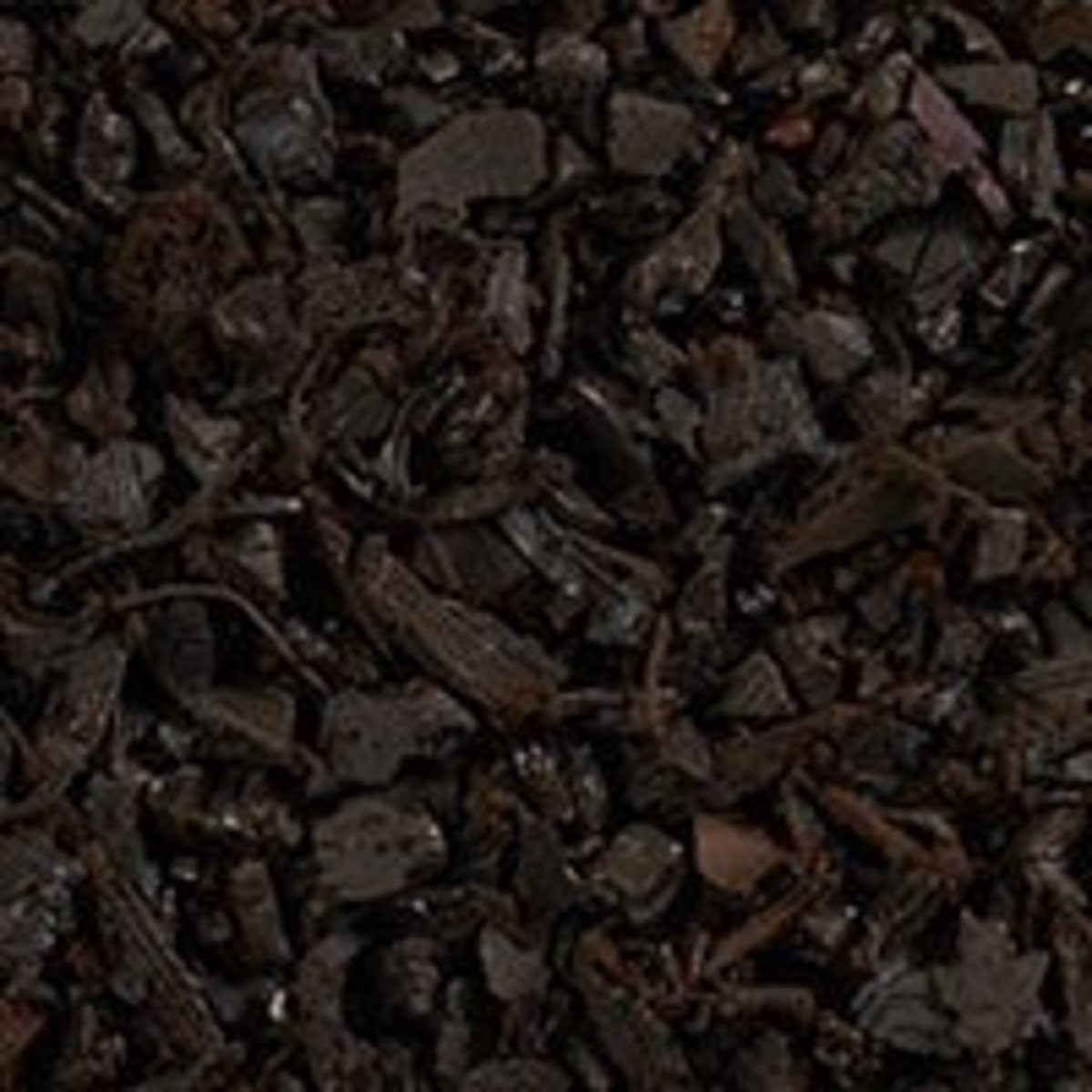 Rubber mulch and bark