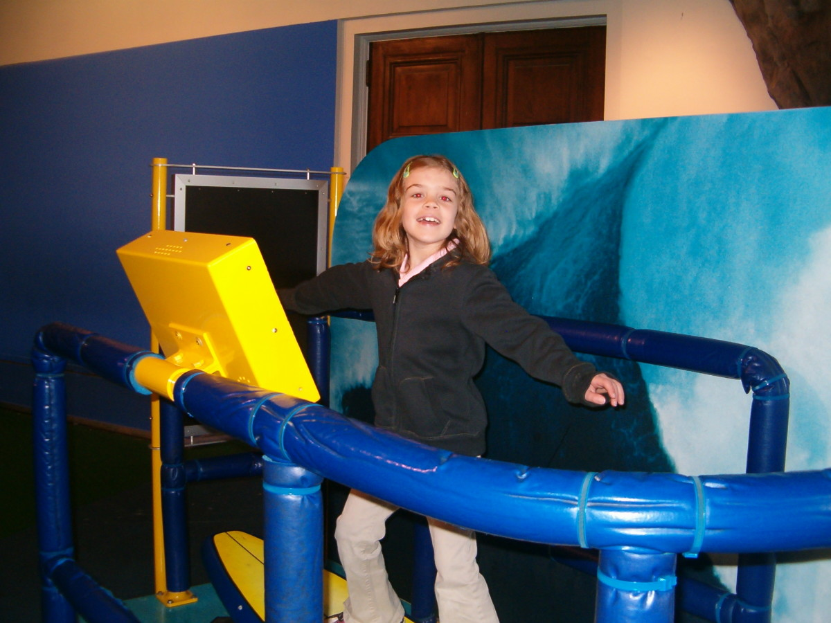 Riding a wave at the Franklin Institute