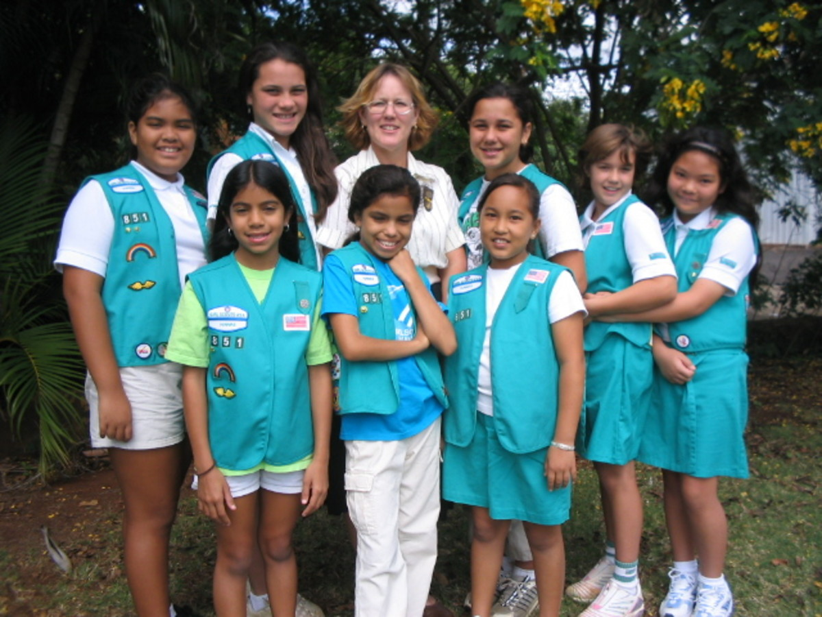 Perfect badge placement is not nearly as important as the other things that girls gain from the program, such as friendships, adventure, confidence, character, and new skills.
