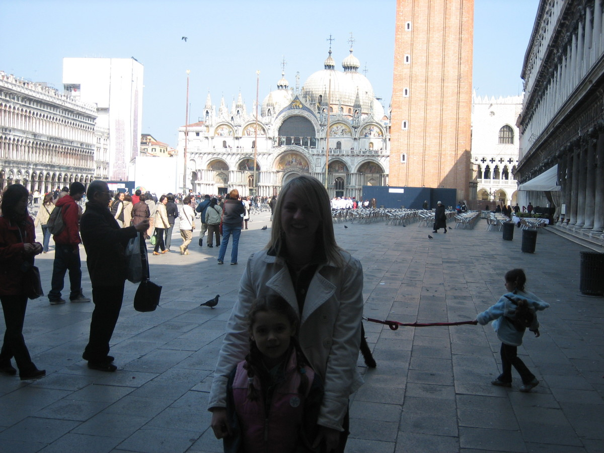 In Venice while working as an au pair