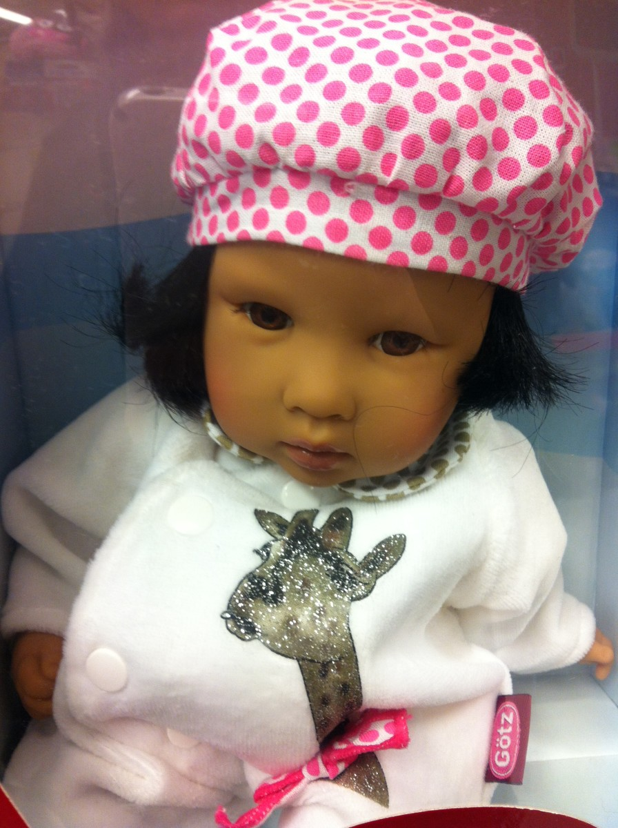Doll with soft vowel sound name