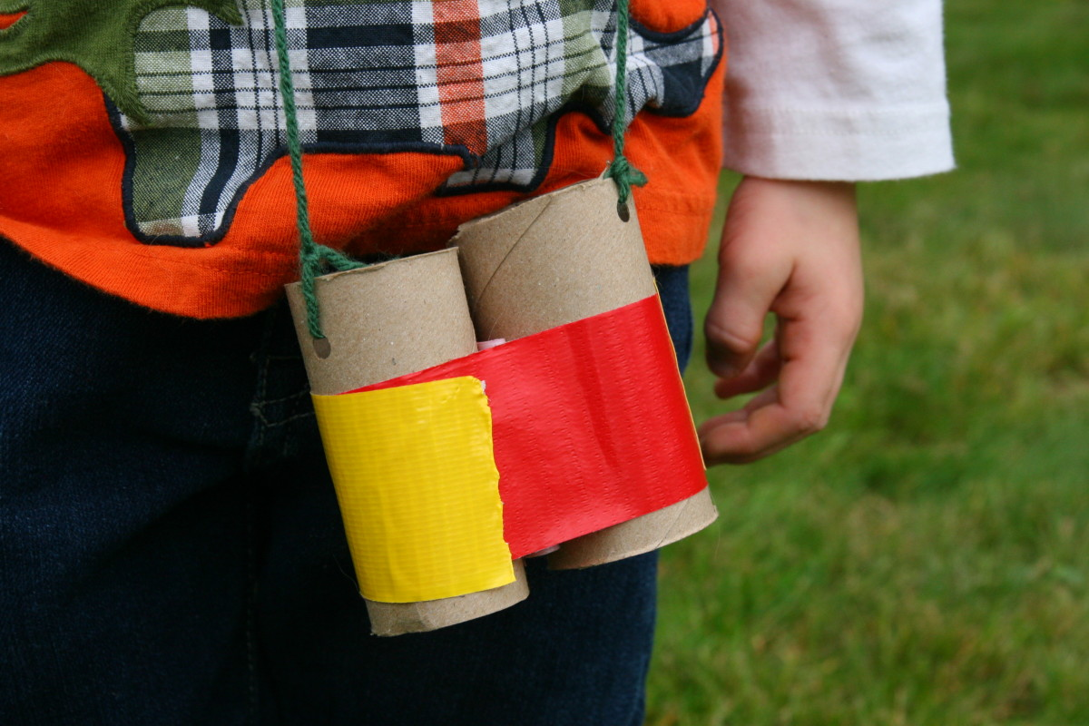 These binoculars are perfect for inspiring creative outdoor play.