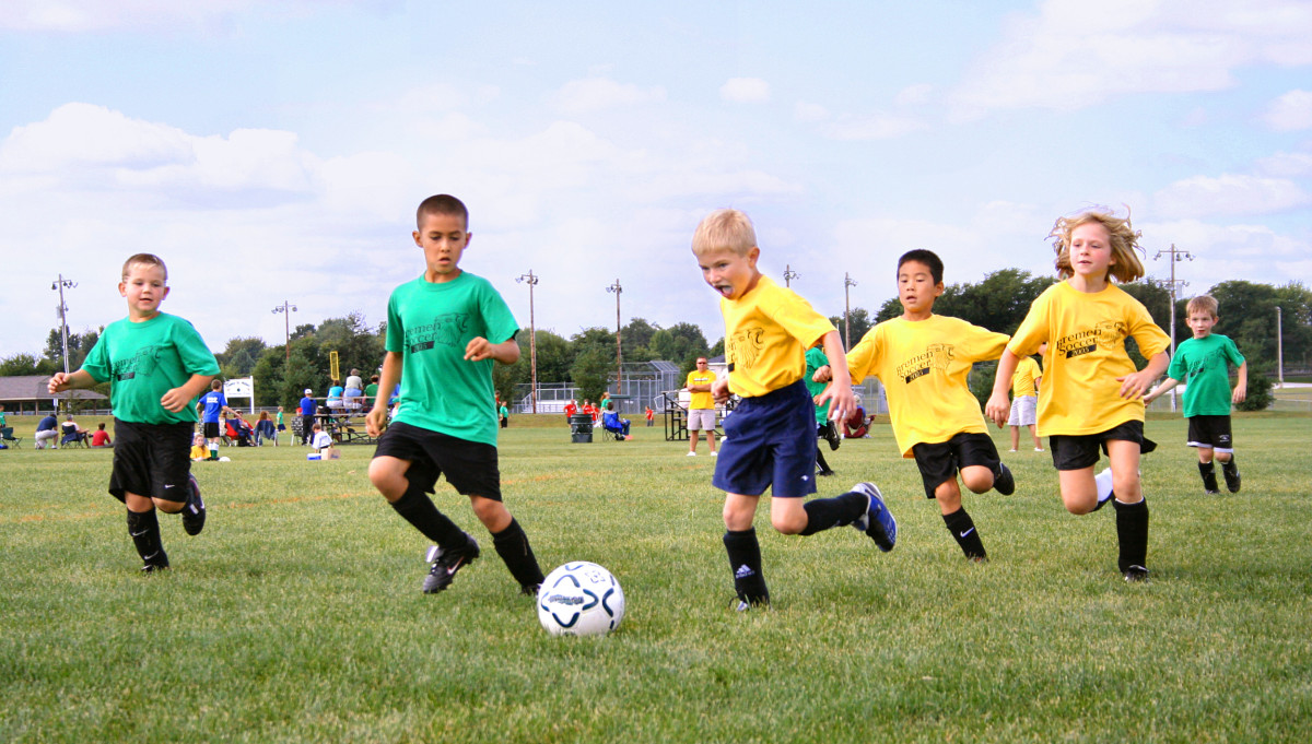 Youth soccer is great fun, but not without injuries