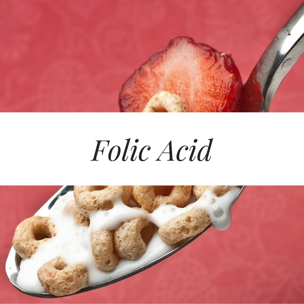 Breakfast cereal is a great source of folic acid.