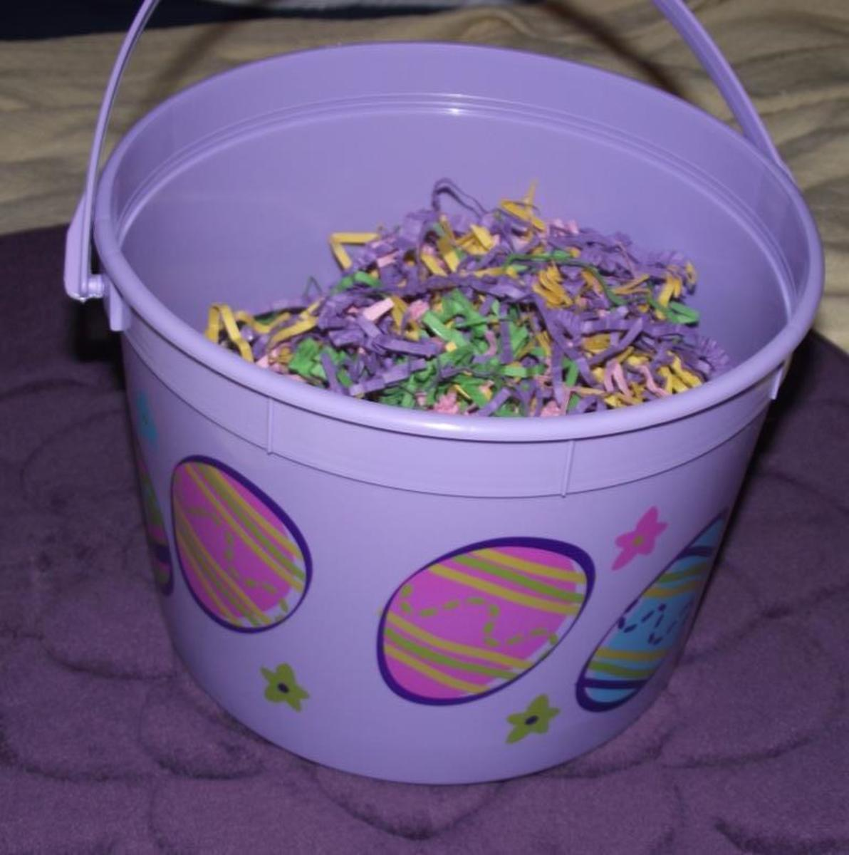 Why not a bucket instead of a basket?