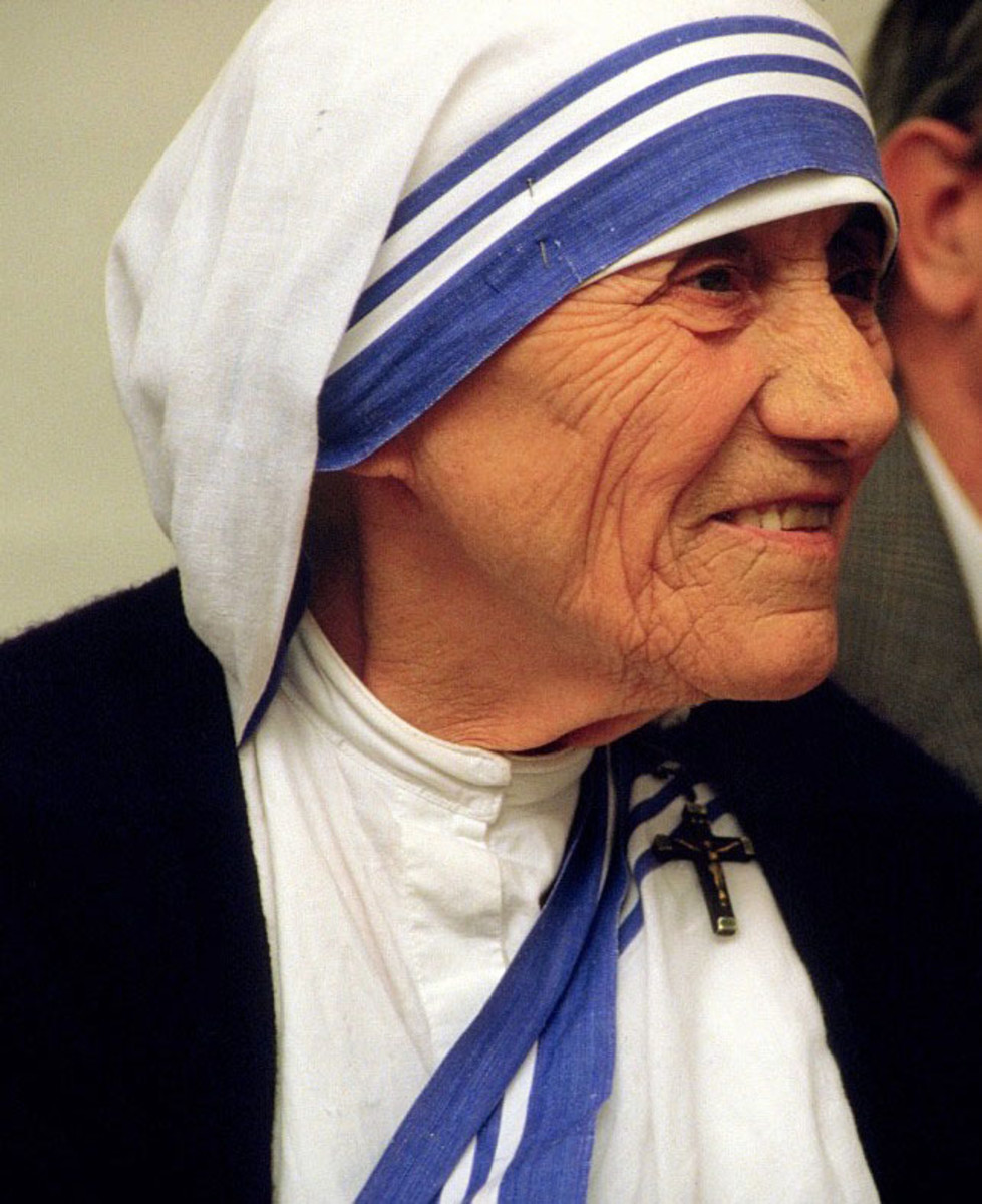 Mother Theresa was the epitome of abnegation, or self-sacrifice.  Who else lives this value?