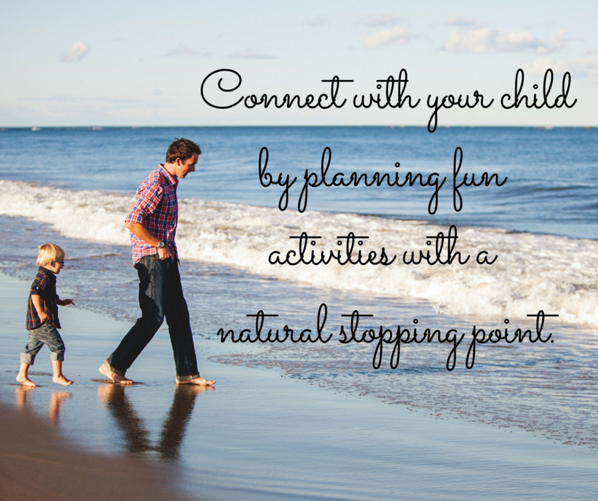 Planning structured activities is an excellent way to be a great dad.