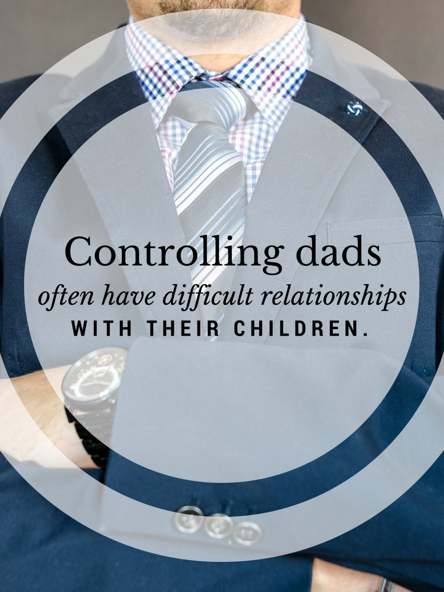 A father expressing frustration can be frightening for a child.