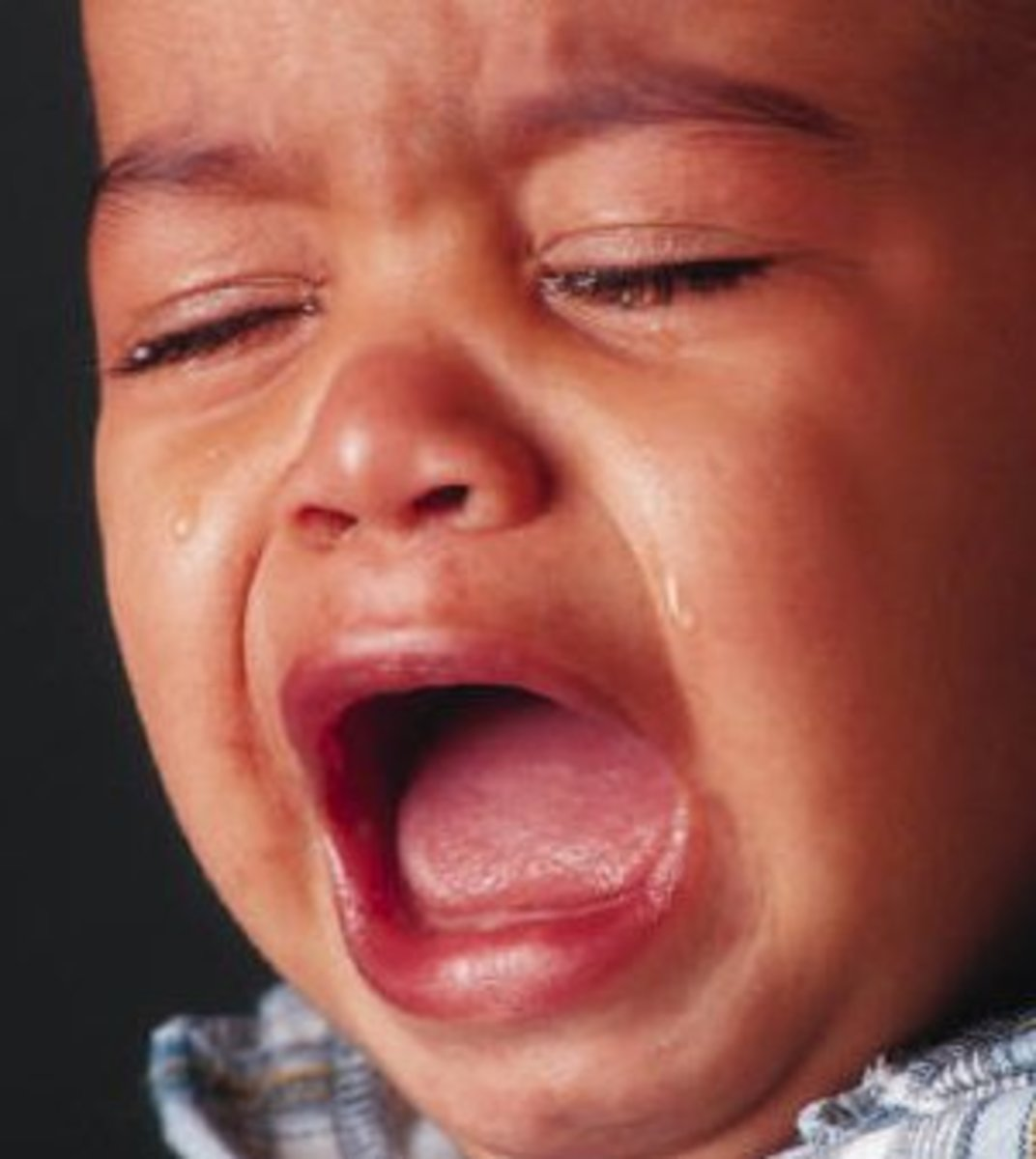 What could be the reason for this baby to cry this much?